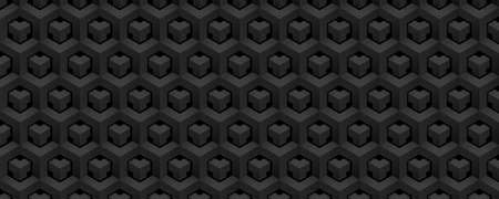Abstract polygonal seamless background Foto de archivo