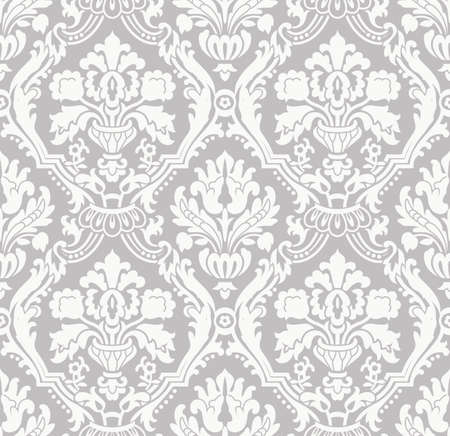 brocade: Swatch or wallpaper in shades of gray