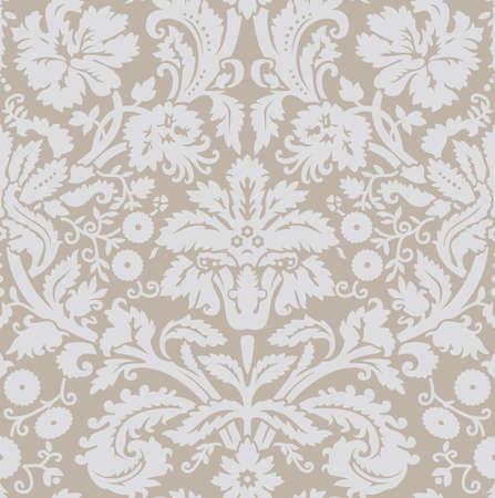 Wallpaper grey beige Stock Vector - 6126795