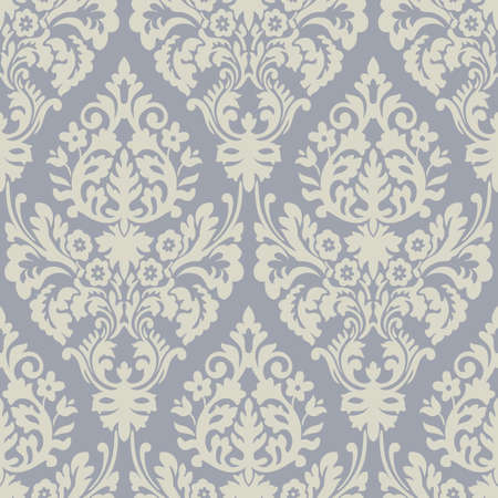 rug texture: grey and cream floral patterns Stock Photo