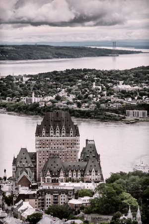 old city: Castle Frontenac