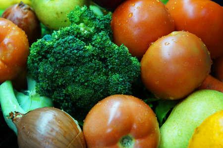 fresh colorful organic vegetables Foto de archivo