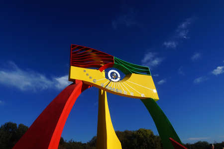 """""""el ojo del tiempo"""" amaizing solar watch located in Merlo, San Luis, Argentina"""