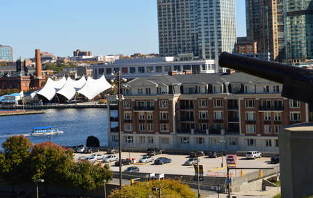federal: Baltimore Inner Harbor, view from Federal Hill