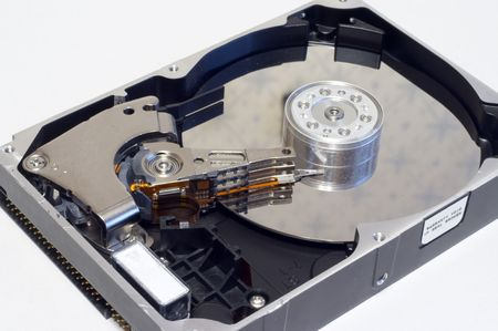 itc: uncovered old hard disk