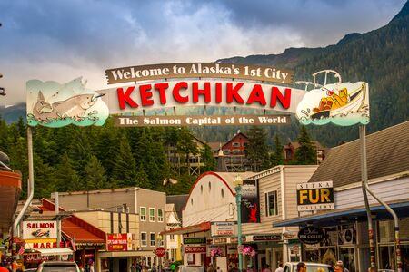 Ketchikan, Alaska famous sign