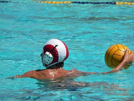 waterpolo: Water polo series  Foto de archivo