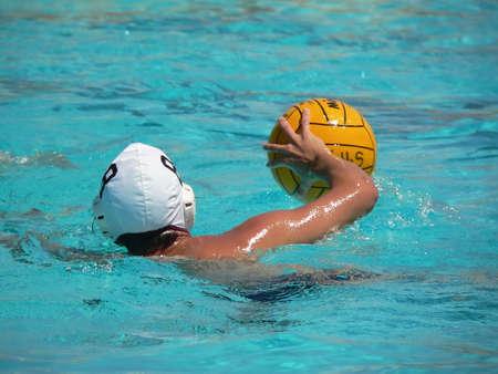 polo player: Water polo series