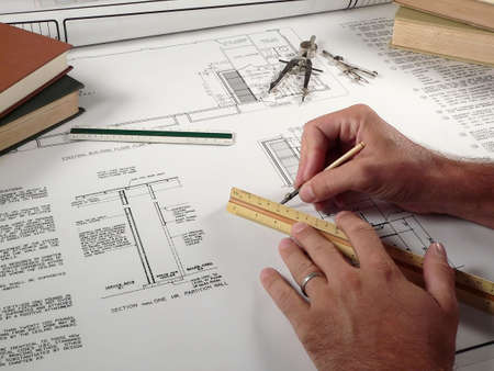 bluelines: Architect at Work
