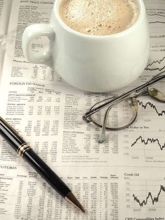 Newspaper Financial Section Stock Photo - 544509
