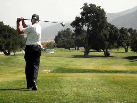 retirement community: Golf Course & Action Stock Photo