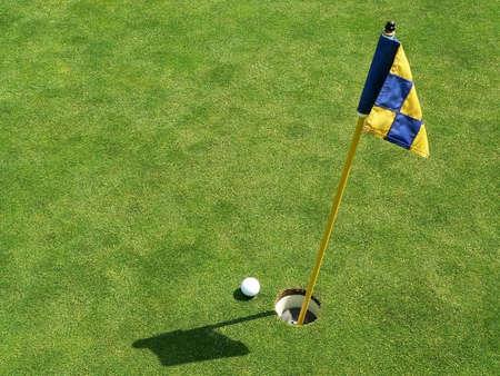 sprawl: Golf Course & Action Stock Photo