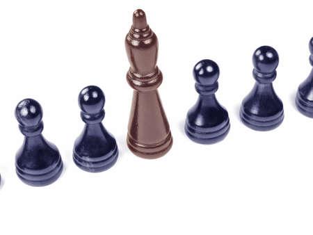 Distinctive Chess Pawn Reklamní fotografie