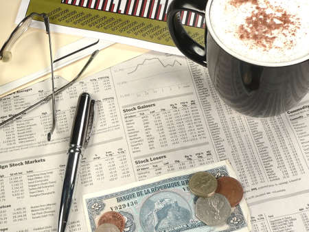 Morning Financial Section