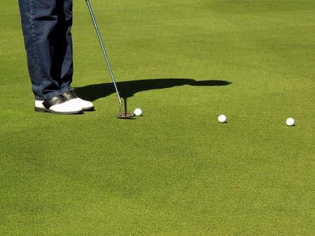 Golf Course Action Stock Photo - 619792