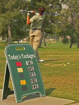 Golf Course Action Stock Photo - 619852
