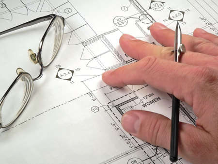 Blueprint Drawings Stock Photo - 657729