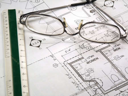 Blueprint Drawings Stock Photo - 657730