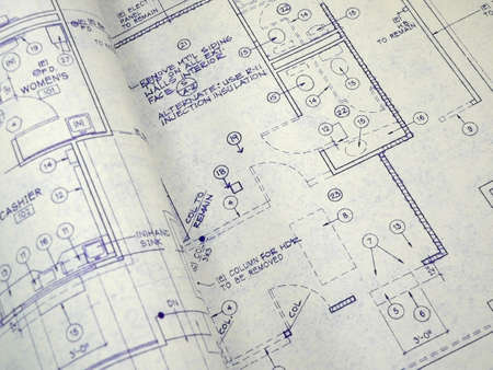 Design Blueprint Stock Photo - 676758