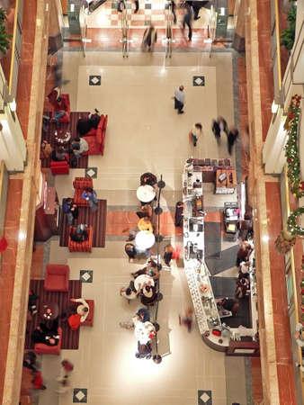 Shopping at Christmas Stock Photo - 676754