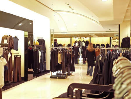 Shopping at Christmas Stock Photo - 676752
