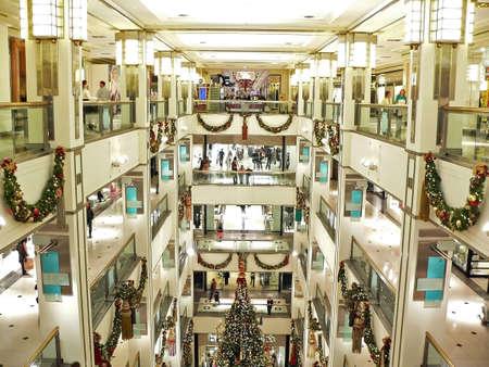Shopping at Christmas Stock Photo - 676751