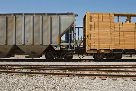 goods train: The many means of transporting the cargo and freight of world trade