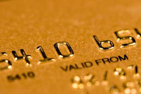 Credit Card security (closed account number) 版權商用圖片