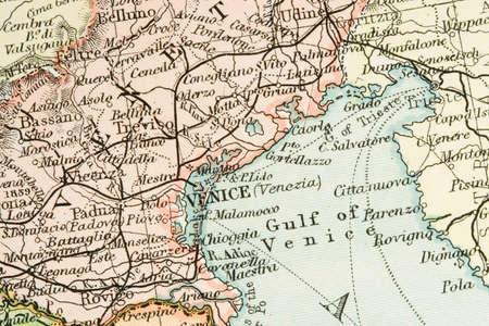 국가 및 무역 경로를 보여주는 빈티지 (1907 저작권 만료)지도 스톡 콘텐츠