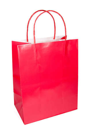 Isolated shopping bag for a retail shopping experience Stock Photo - 3578323