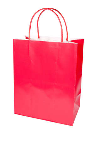 Isolated shopping bag for a retail shopping experience Stock Photo - 3578302