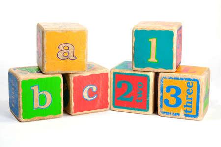 教育・学習 A B Cs 子供おもちゃブロック 写真素材