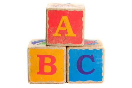 教育・学習 A B Cs チャイルズおもちゃのブロック