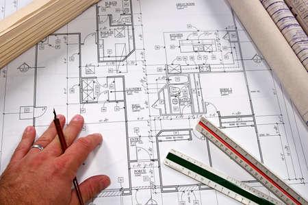 새로운 주택 및 지역 사회의 건축 청사진