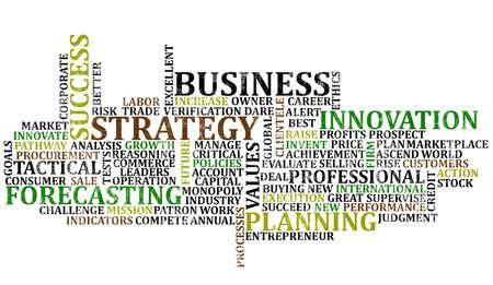 Business Words Collage Фото со стока