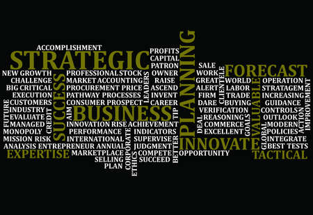 Business Words Collage Stockfoto