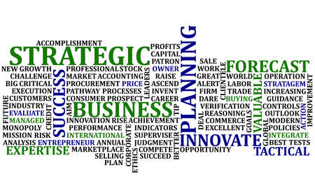 Business Words Collage photo