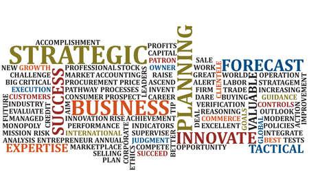 A scramble of business buuz words for background Фото со стока