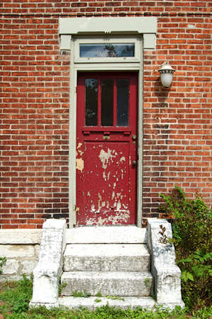 The old and vintage doors of German Village, Columbus, Ohio