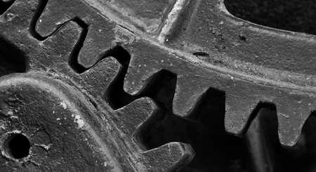 Gear Teeth on an Industrial Machine