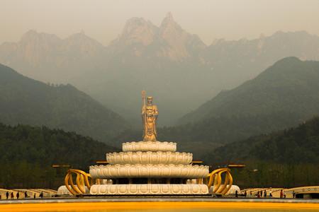 霊山で大仏 写真素材 - 77642717