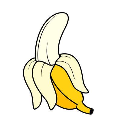 rinds: Banana Illustration