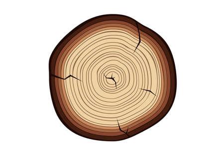 wood cut: Wood cut Illustration