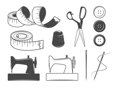 icons: Sewing icons