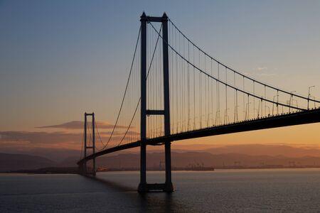 Osmangazi Bridge crossing over the Kocaeli Bay