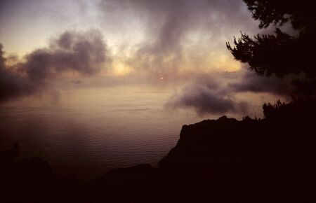 From the impressive viewing point Eremita del Santo (Gomera) Stock Photo - 2726840
