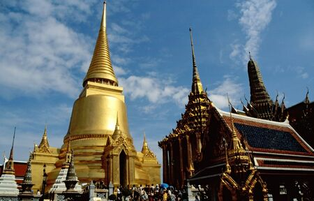 Grand Palace in bangkok Stock Photo - 2767959