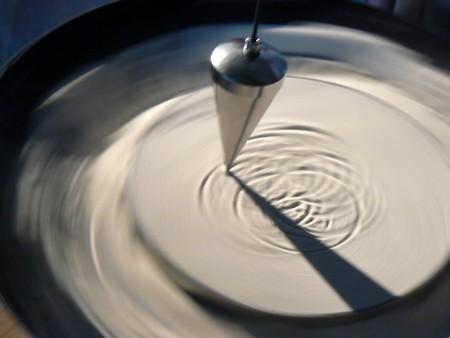 esot�risme: Pendula plus de surface de sable Banque d'images