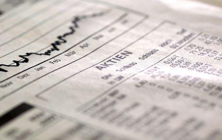 umschwung: Fl�chtige Aktienindex DAX in deutschen Zeitungen