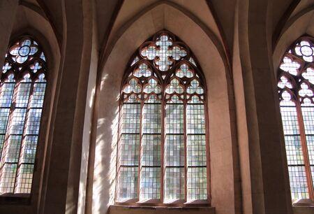 stone cutter: Abbey of Eberbach near Eltville Rhine, Germany